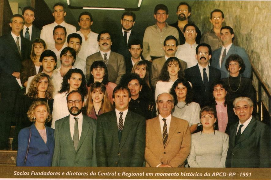 Fundadores da APCD Ribeirão Preto
